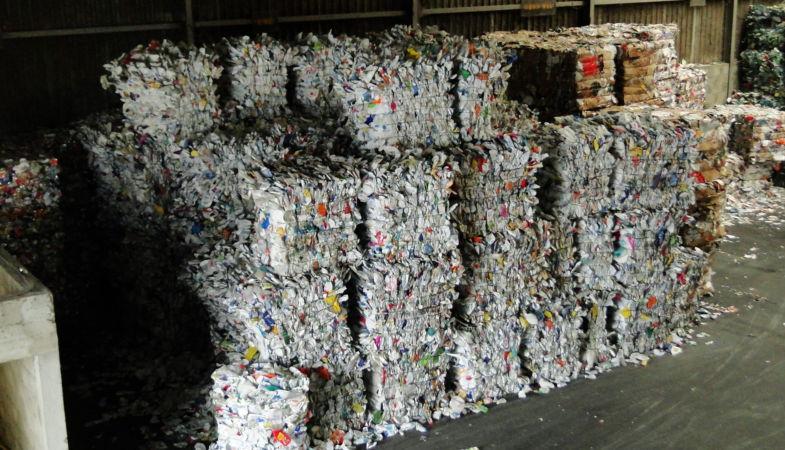 conditionnement des déchets