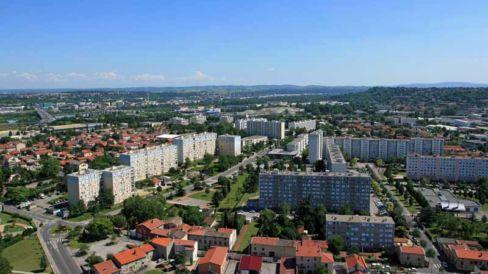 vue aérienne Haute-Roche